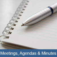 Meetings Agenda & Minutes Icon